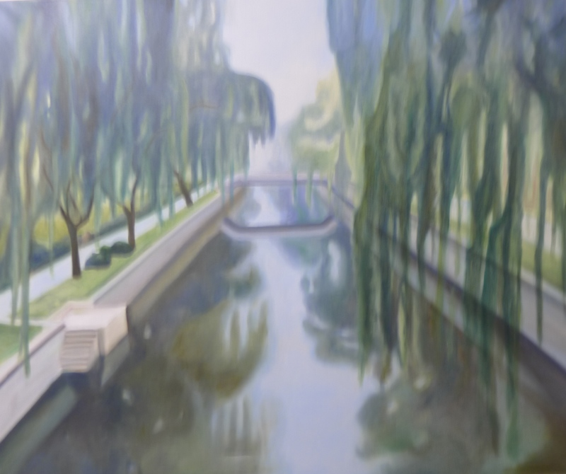 Xiaojie canal (soft linseed )Cunningham 120 x 100cm Not Available