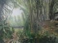 Yunnan Bamboo Cunningham Oil on canvas 150 x 115cm