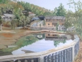 Yunnan Village mayors house Cunningham 58 x 50cm
