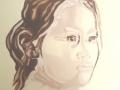 Ally Transparent Milk Cunningham Oil on canvas 50x50cm