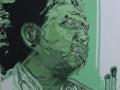 Brendan H Cunningham Oil on canvas 50x 50 cm