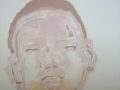 Daxing boy Transparent Milk Cunningham Oil on canvas 50x50cm
