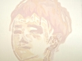 Henry Transparent Milk Cunningham Oil on canvas 50x50cm