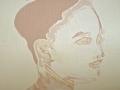 Maria Transparent Milk Cunningham Oil on canvas 50x50cm