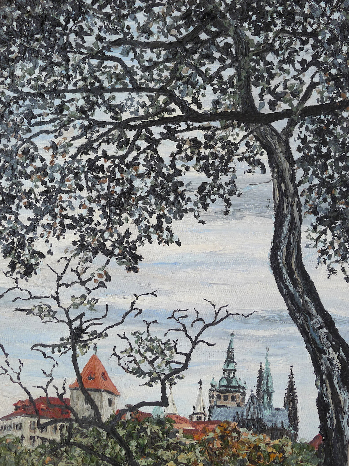 Vitas Cathedral Prague Cunningham 25 x 37 cm